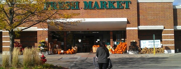 The Fresh Market is one of Locais curtidos por Anoosh.
