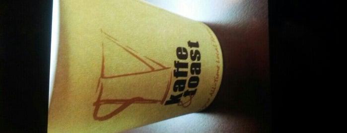 Kaffe & Toast is one of Tempat yang Disukai Kaeinux.