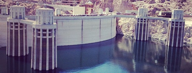Hoover Dam is one of USA #4sq365us.