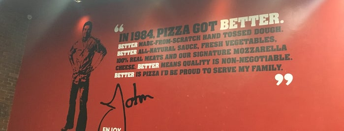Papa John's Pizza is one of Orte, die G gefallen.