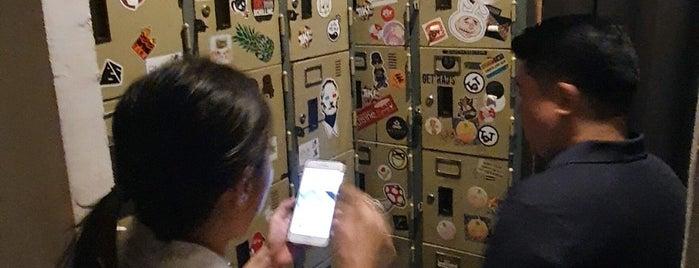 The Locker Room is one of BKK.