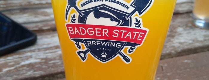 Badger State Brewing Company is one of Breweries I Have Visited.