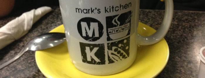 Mark's Kitchen is one of Colleen'in Kaydettiği Mekanlar.