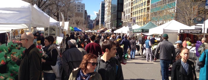 Union Square Greenmarket is one of NY.