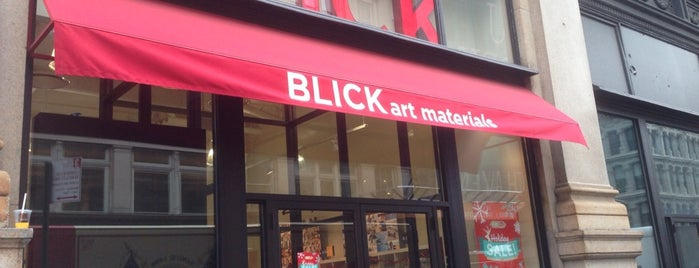 Blick Art Materials is one of Tempat yang Disukai Georgia.