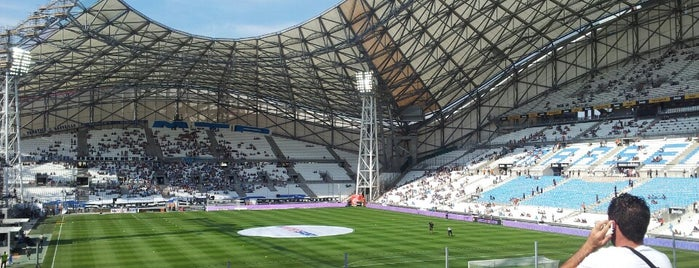 Stade Vélodrome is one of Top Olympic Stadiums.