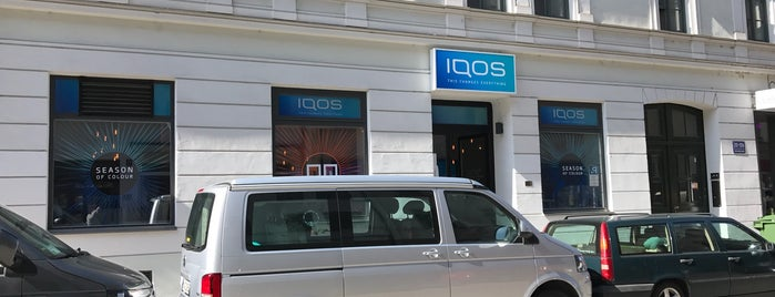 iQOS store is one of Lugares favoritos de Rob.