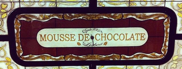 Café Mousse De Chocolate is one of Lisbon Favourites.