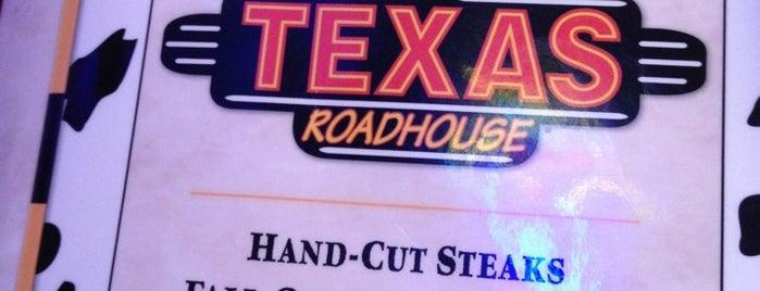 Texas Roadhouse is one of Tempat yang Disukai Jackie.