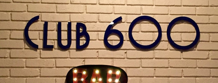 Club 600 is one of Lieux qui ont plu à Michael.