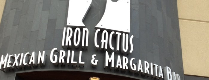 Iron Cactus Mexican Restaurant, Grill and Margarita Bar is one of Lieux qui ont plu à Rachel.