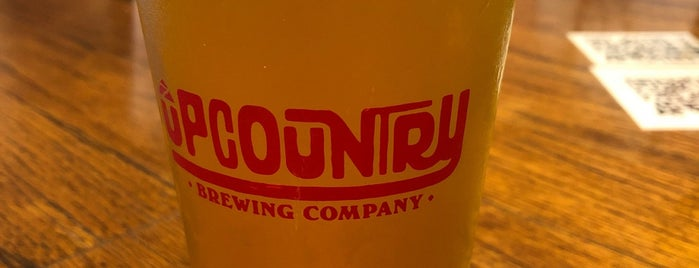 UpCountry Brewing Co. is one of New to me in Asheville 2017.