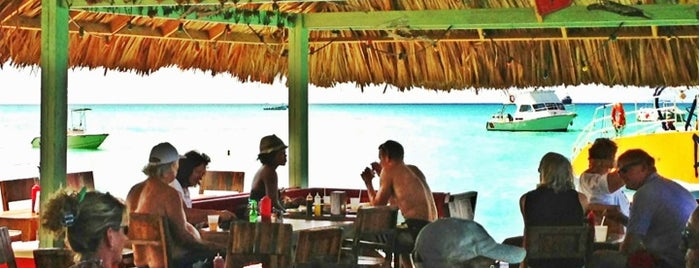 Bugaloe Beach Bar & Grill is one of Aruba.