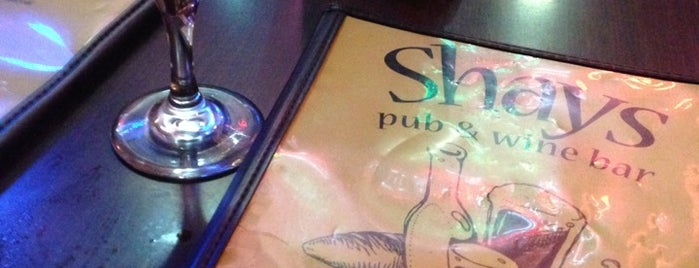 Shays Pub & Wine Bar is one of TNGG Recommends.