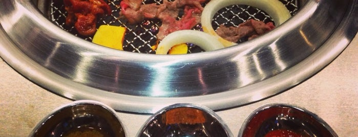 Tomukun Korean BBQ is one of Lugares guardados de Brian.