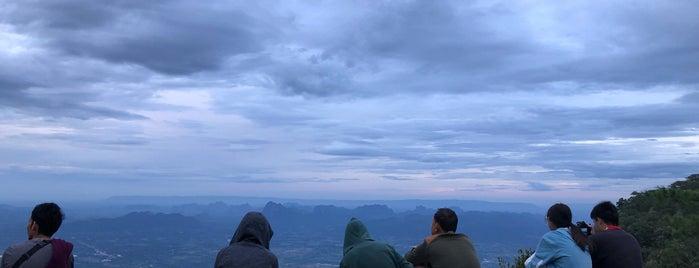 Nok Aen Cliff is one of ขอนแก่น, ชัยภูมิ, หนองบัวลำภู, เลย.
