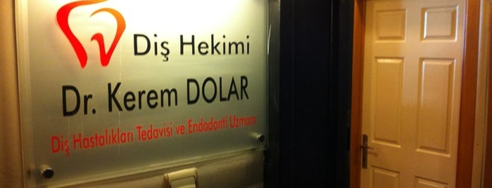Diş Hekimi Dr. Kerem Dolar Diş Kliniği is one of Posti che sono piaciuti a Tarık.