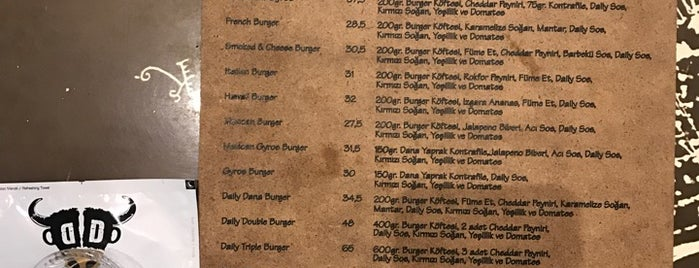Daily Dana Burger & Steak is one of istanbul.
