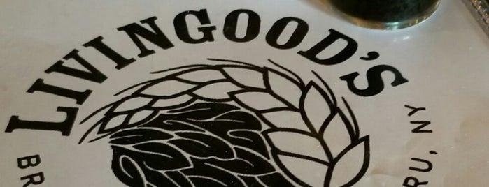 Livingood's Restaurant & Brewery is one of Locais curtidos por Morgan.