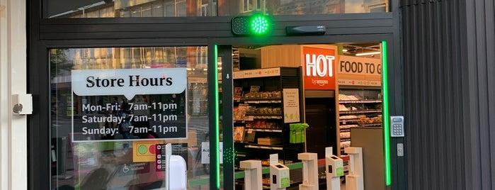 Amazon Fresh UK stores