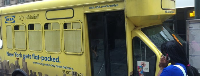 IKEA Borough Hall Shuttle is one of NY to-do list.