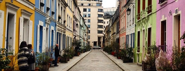 Rue Crémieux is one of Paris & London.