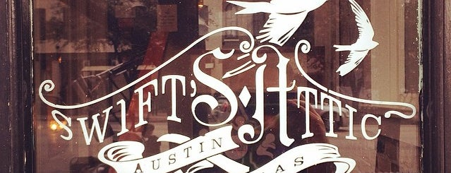Swift's Attic is one of Venues for the Vintage Cocktail Club.