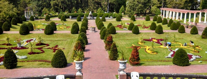 Sonnenberg Gardens is one of Naples, NY.