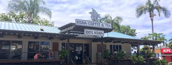 Kona Coffee & Tea is one of Locais curtidos por Christina.
