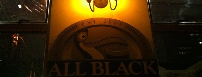 All Black Irish Pub is one of Lugares para ficar bebado em São Paulo.