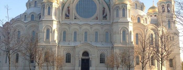 Морской Никольский собор is one of Интересные места. Санкт-Петербург..