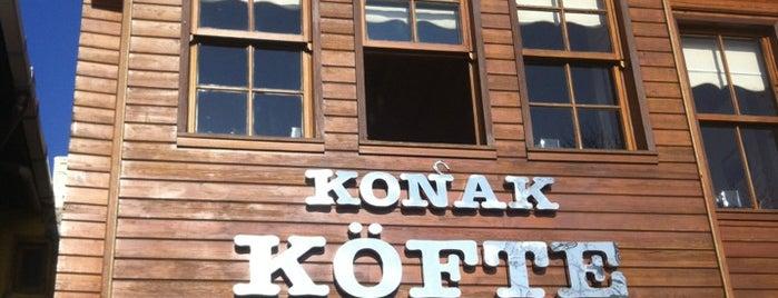 Konak Köfte is one of สถานที่ที่บันทึกไว้ของ Gokhan.
