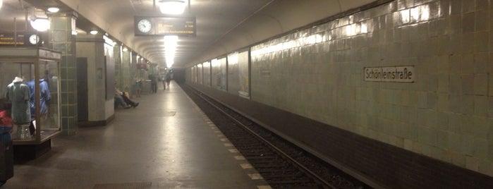 U Schönleinstraße is one of U & S Bahnen Berlin by. RayJay.