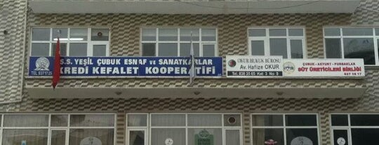 SS. Yeşil Çubuk Esnaf Ve Sanatkarlar Kredi Ve Kefalet Kooperatifi is one of Lugares favoritos de Güneş.