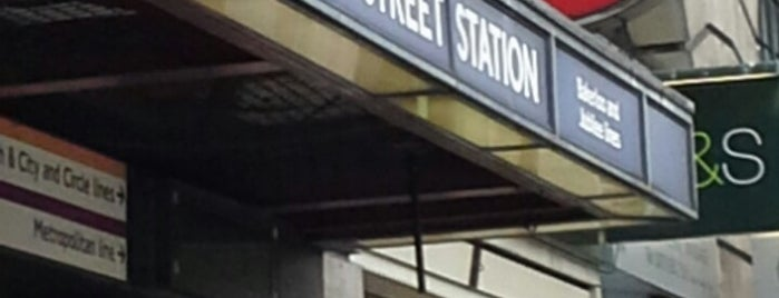 Baker Street London Underground Station is one of London City Guide.