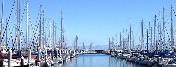 Santa Barbara Harbor is one of California Dreaming.