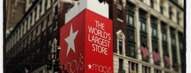 Macy's is one of TODO New York City.