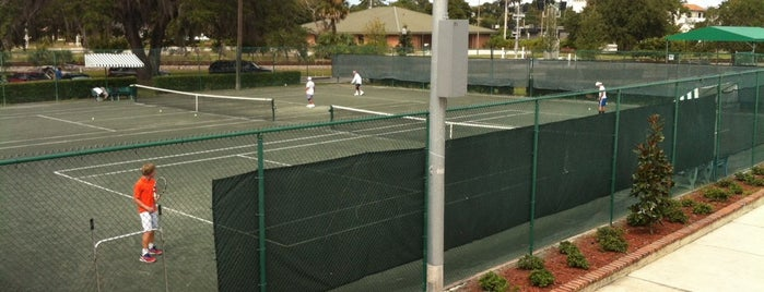 Winter Park Tennis Center is one of My Magic Orlando.