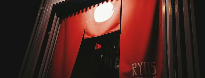 RYUS Noodle Bar is one of Restaurants to try.