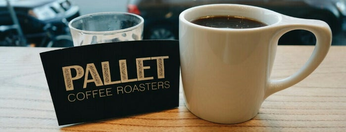 Pallet Coffee Roasters is one of Locais salvos de Eric.
