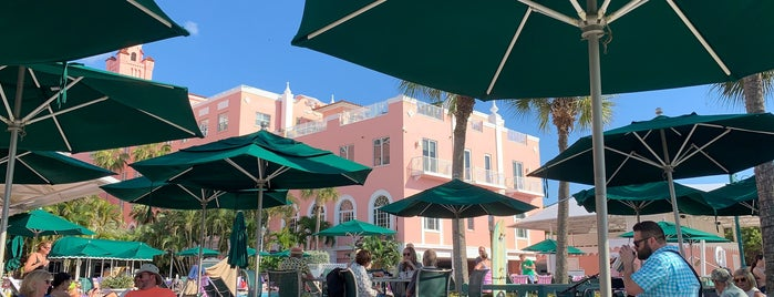 Sunsets' Tequila Bar at Loews Don CeSar Hotel is one of St Petes.