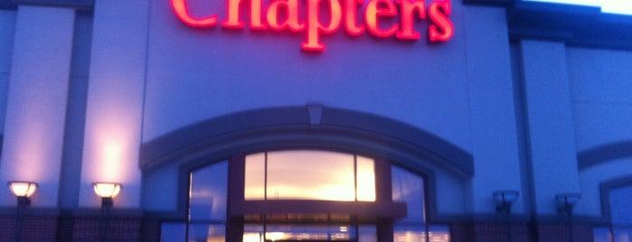 Chapters is one of Winnipeg.