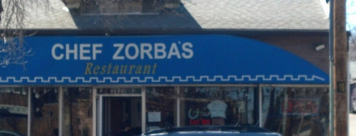 Chef Zorba's Greek Restaurant is one of Locais curtidos por Andrea.