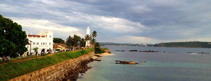 Galle Lighthouse is one of Sri Lanka.