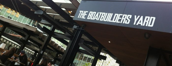 The Boatbuilders Yard is one of Rooftop Bars.