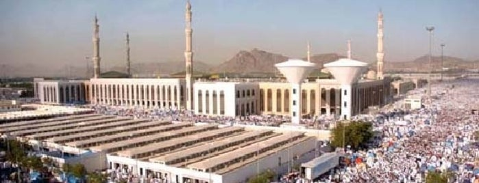 Al Khif Mosque is one of Holy Places & Sites of Region Hejaz.