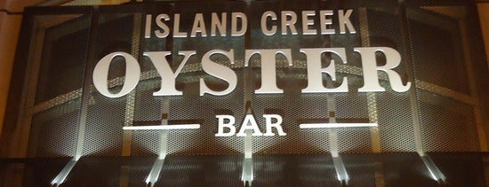 Island Creek Oyster Bar is one of What to Have Where Boston.