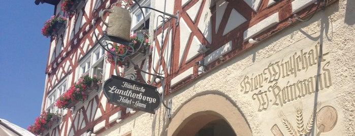 Bier-Wirtschaft Reinwand is one of Orte, die Marco gefallen.