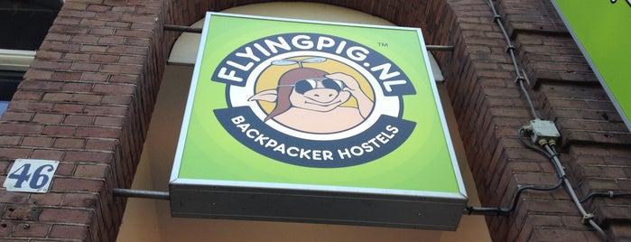 The Flying Pig Uptown is one of Amsterdam'da gideceğim yerler.