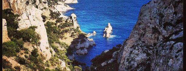 Calanque de Sugiton is one of Marseille.